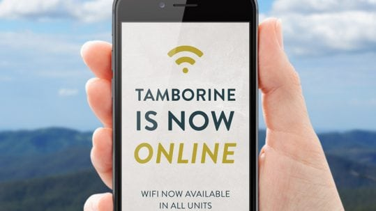 Free high speed internet Tamborine School Camp