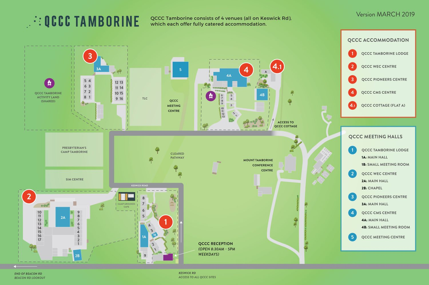 QCCC-Tamborine---Accommodation-and-Main-Halls-Layout