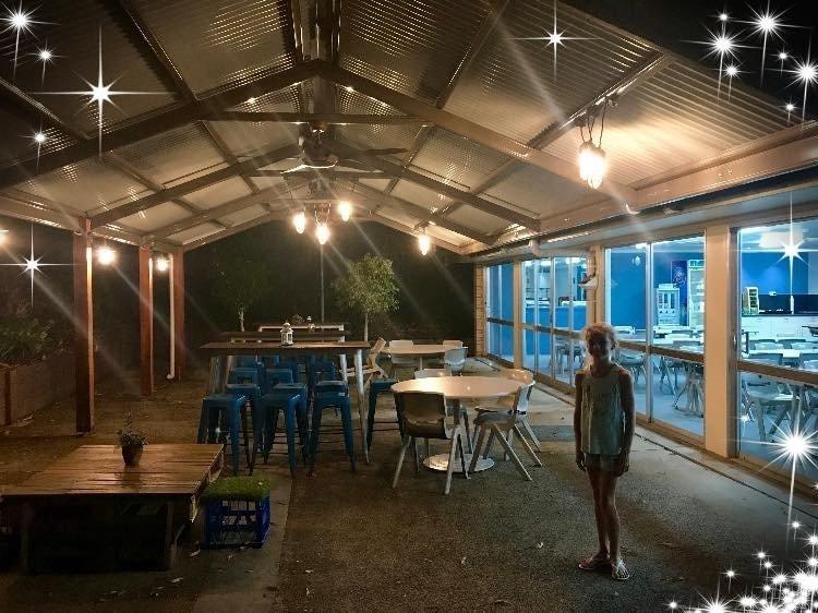 Brisbane Urban School Campsite Outdoor Dining