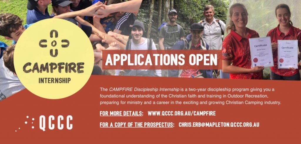 Applications Open for an Internship in Queensland Outdoor Education