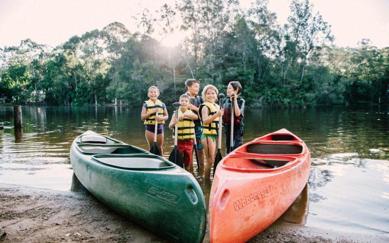 Canoe school camp
