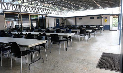 WEC Centre - Outdoor undercover area
